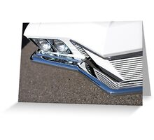 Grille & Ground Greeting Card