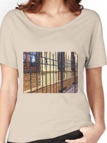 Detail of the facade of a beautiful building Women's Relaxed Fit T-Shirt