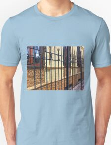 Detail of the facade of a beautiful building T-Shirt