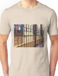 Detail of the facade of a beautiful building Unisex T-Shirt