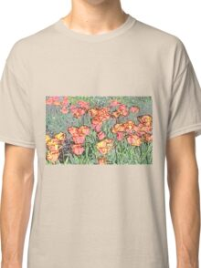 Pastel Tulips Classic T-Shirt