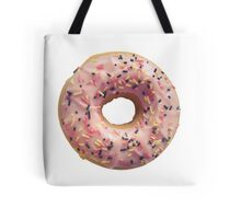 Isolated Pastel Pink Donut Tote Bag