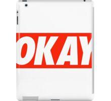 okay iPad Case/Skin
