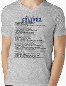 30 reasons to ship Coliver Mens V-Neck T-Shirt