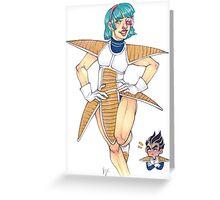 Bulma Card Greeting Card