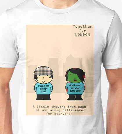 TFL Together For London Zombie Version Unisex T-Shirt