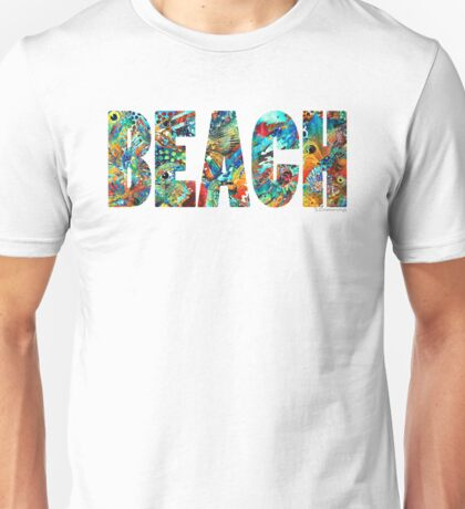Beach Art - Beachy Keen - By Sharon Cummings Unisex T-Shirt