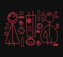 Children Graphics - red design Kids Tee