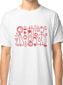 Children Graphics - red design Classic T-Shirt