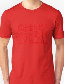 Children Graphics - red design Unisex T-Shirt