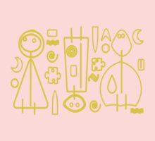 Children yellow graphic design Kids Tee