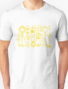 Children yellow graphic design T-Shirt