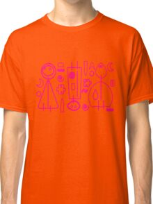Children Pink Graphic Design Classic T-Shirt