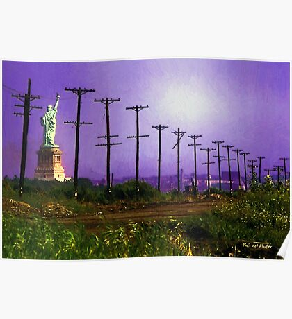 Lady Liberty Lost Poster