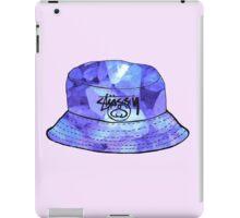 Purple Crystals Stussy Hat iPad Case/Skin