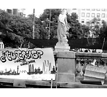 Barcelona Protests Photographic Print