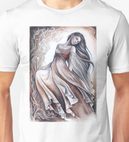 Dancing elven lady Unisex T-Shirt