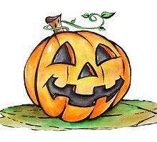 Halloween pumpkin by Patricia Pedroso