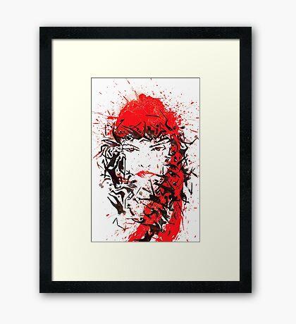 Elektra Natchios Framed Print