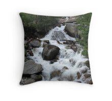 Kings Canyon Stream II Throw Pillow