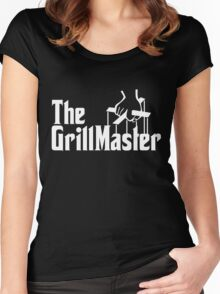 The Grill Master Women's Fitted Scoop T-Shirt