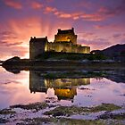 Scotland: Eilean Donan Castle by Angie Latham