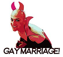 Gay Marriage! Photographic Print