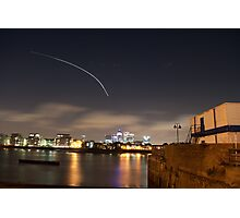 City Fly by Photographic Print
