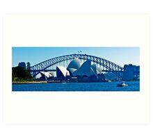 Sydney Looking West Art Print