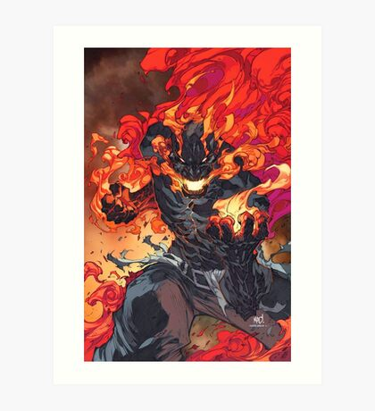 Inhuman Cover Art Print