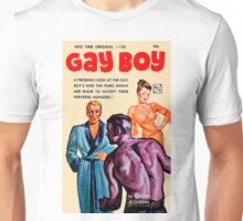 Gay Boy Vintage Bookcover Unisex T-Shirt