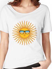 Hipster Sun Women's Relaxed Fit T-Shirt
