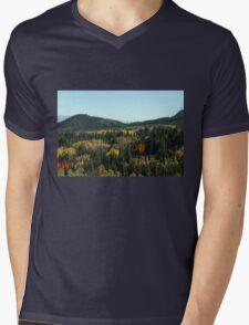 Valley Of Color Mens V-Neck T-Shirt