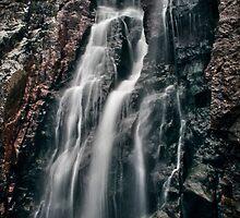 Mahon Falls Waterfall, Waterford, Ireland by John  Carey