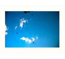 NYC skyscape Art Print