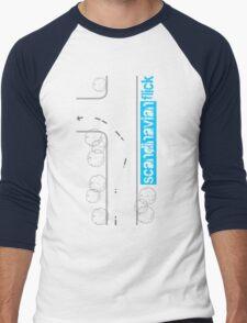 Scandinavian Flick Men's Baseball ¾ T-Shirt
