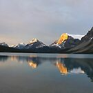 at Bow Lake 7 by Brett Hanavan