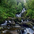Torc Waterfall, Killarney, Kerry, Ireland by John  Carey