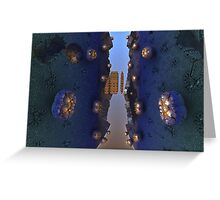 Breakaway Greeting Card
