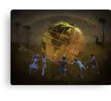 Its A Small World! Canvas Print