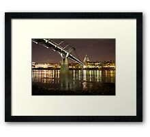 St Pauls From The Foreshore Framed Print