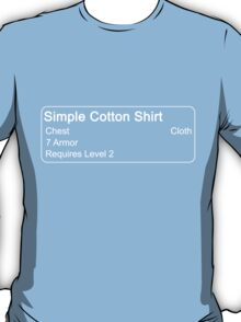 Simple Cotton Shirt T-Shirt