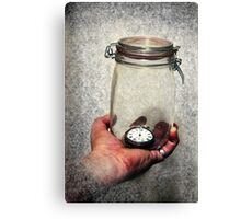 If I Could Save Time... Canvas Print