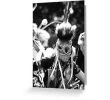Pow Wow Greeting Card
