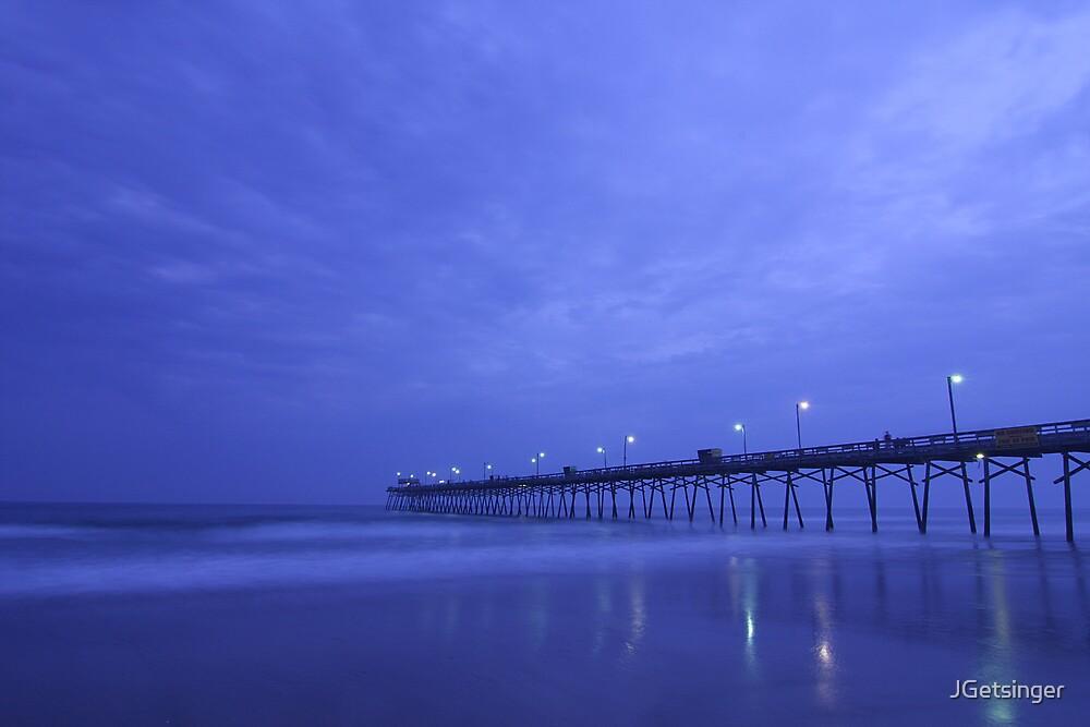 Pier In Darkness by JGetsinger