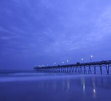 Pier In Darkness by JGetsinger