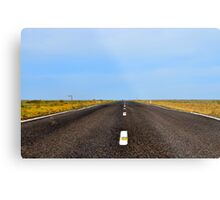 Hay Plains Metal Print
