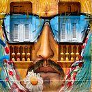 Sunglasses Graffiti Wall by Delights