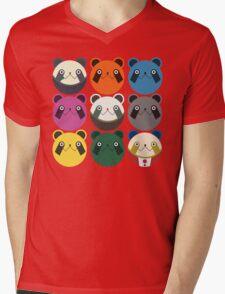 Upamania Mens V-Neck T-Shirt