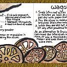 Illustrated Recipe: Wagon Wheel Chips by dosankodebbie